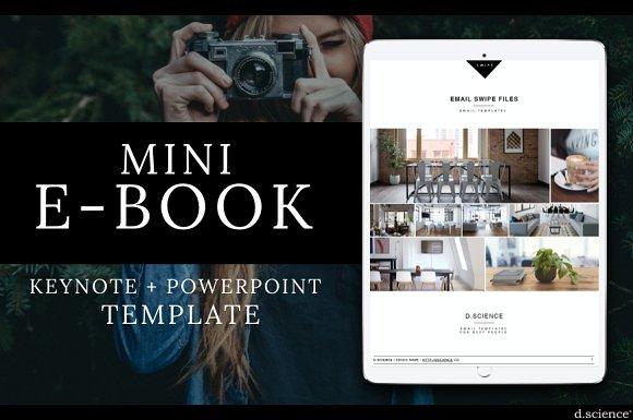 Mini Ebook Template Clean No7 Magazine Templates Creative Market