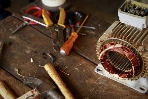 Repair Induction motor