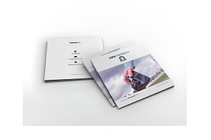 Lensa - Square Photography Brochure