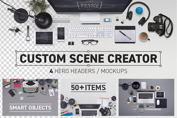 Hero Header Scene Creator