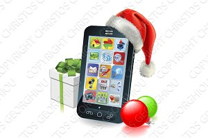 Christmas Mobile Phone