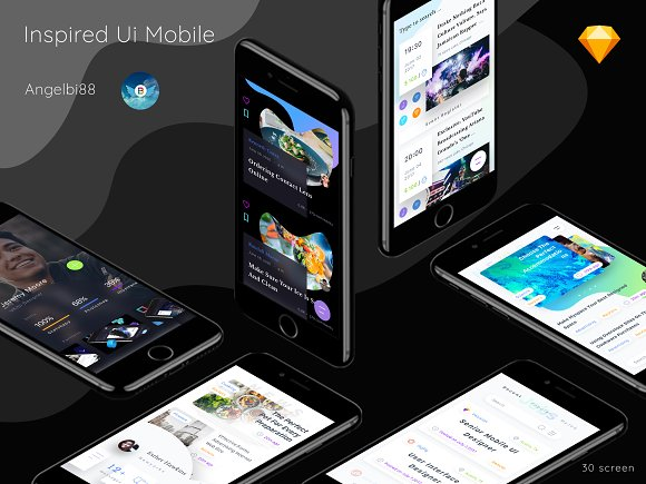 Inspired Ui Mobile Part 1