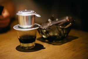 vietnameese coffee with sweet milk