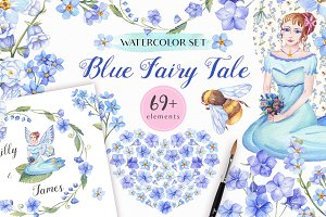-50% OFF - Blue Fairy Tale