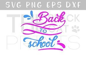 Back to school SVG PNG EPS