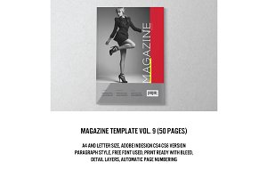 Magazine/Editorial Template 09