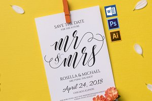 Save the Date Template Wpc213