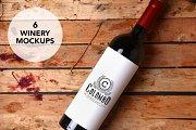 Winery Mockups