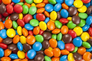 Chocolate candy Background