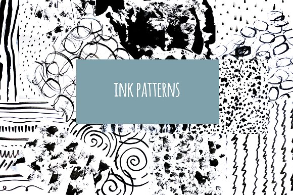 Ink Patterns Mega Set
