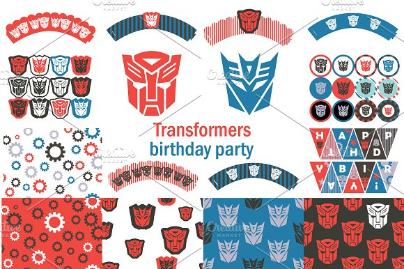 Transformers Birthday Party Package