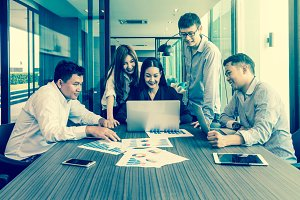 People business group concept