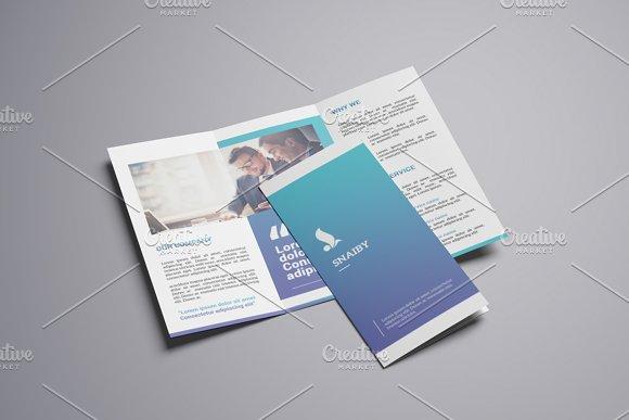 Trifold Corporate Brochure-V746