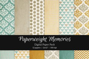 Patterned Paper - Sweet Day