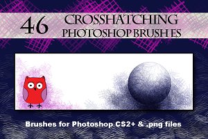 Crosshatching Brushes