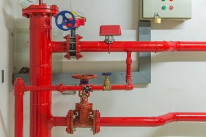 Pipes and faucet valves of gas