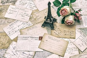 Postcards and Roses