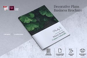 Decorative Plants Brochure A4