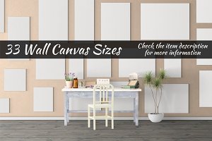 Canvas Mockups Vol 513
