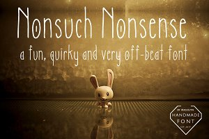 Nonsuch Nonsense - Quirky Font