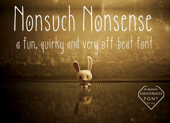 Nonsuch Nonsense Quirky Font
