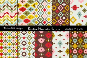 Primitive Geometric Patterns