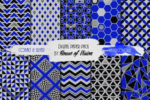 Cobalt Geometric Pack