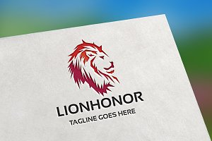 Lion Honor Logo