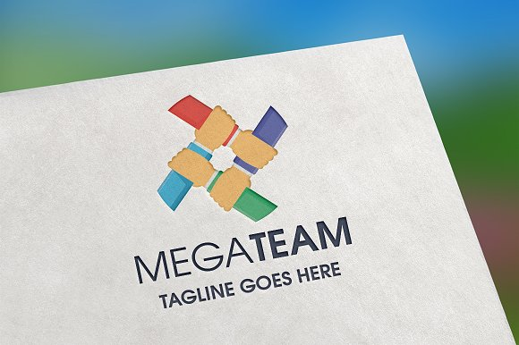 Mega Team Logo