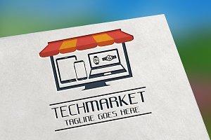 Tech Market Logo