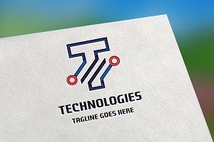 Technologies (Letter T) Logo