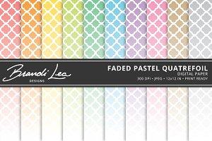 Pastel Ombre Dots Digital Paper