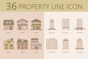 36 Property Line ICON
