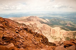 Pikes Peak Mountain Range