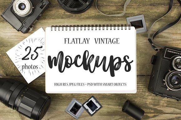 Flatlay Vintage Bundle