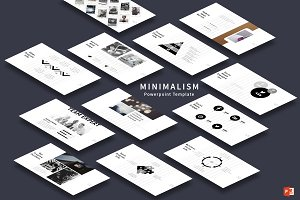 Minimalism PowerPoint Template