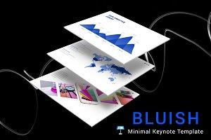 Bluish Keynote Template
