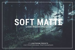 Soft Matte Lightroom Presets