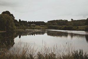 Lake at Leeds Castle