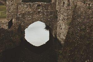 Castle Bridge Reflected