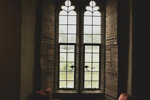 Window Seat in Castle