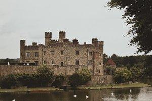 Leeds Castle on Lake