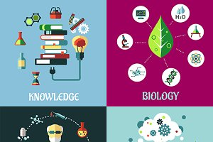Science and knowledge flat concepts