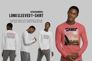 Long Sleeved T-Shirt (African Model)