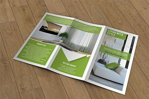 Trifold brochure template-V78