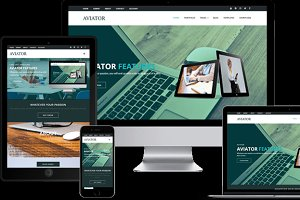 Aviator - Corporate WordPress Theme