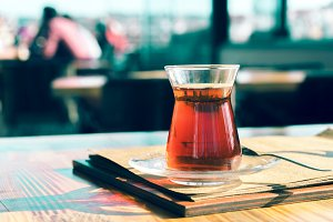 A Turkish tea