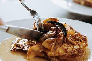 Caramelized Apple French Toast