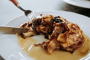 Caramelized Apple French Toast alt