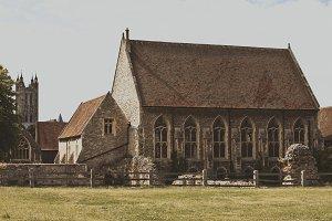 Church Near Ruins